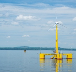 Controversial offshore wind energy project draws opposition