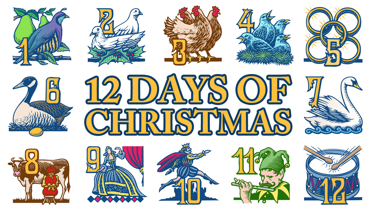 How Many Days Of Christmas Are There.The Twelve Days Of Christmas Marine Science Graduate