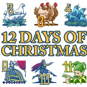 The Twelve Days of Christmas (Marine Science Graduate Student Edition)