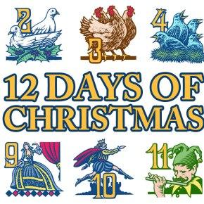The Twelve Days of Christmas (Marine Science Graduate StudentEdition)