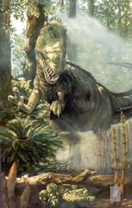 This dinosaur is not happy about environmental justice violations. Image from www.tpwd.state.tx.us