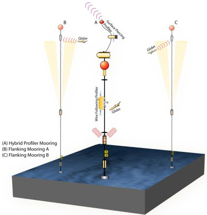 An example of the mooring and glider system used by OOI.  From http://oceanobservatories.org/infrastructure/ooi-station-map/station-papa/.