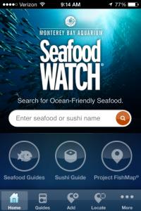 Monterey Bay Aquarium's Seafood Watch App