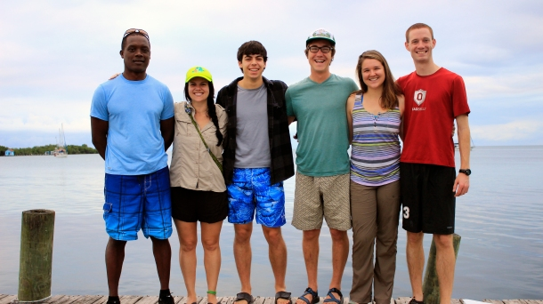 The Castillo Lab Field Team (2014).  (Credit: Joe Townsend)