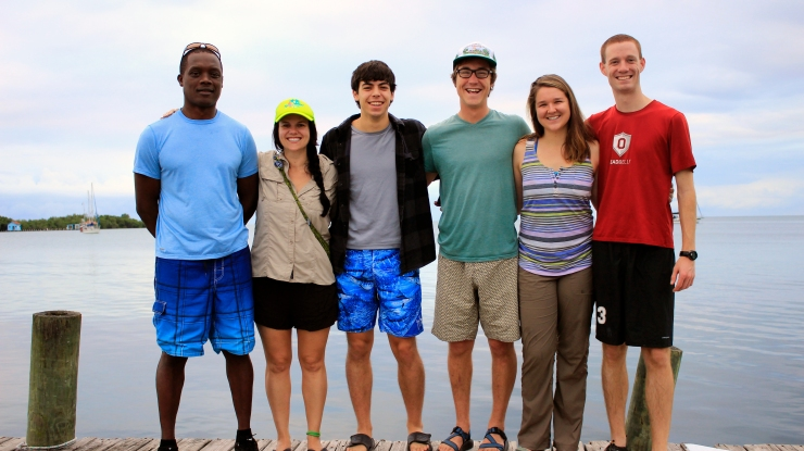 The Castillo Lab Field Team (2014).  (Credit: Joe Townsend)