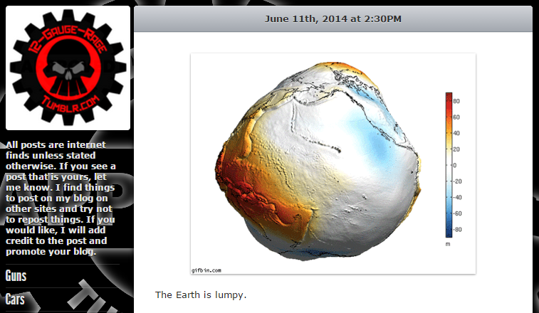Is The Earth Shaped Like A Potato Science In Social Media Under
