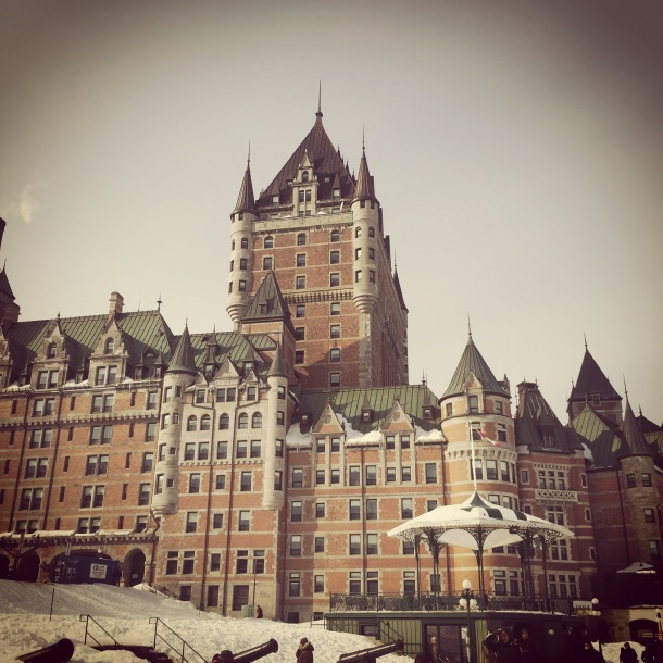 #BEM2015 location: Le Chateau Frontenac. An amazing and historic hotel in the middle of the old city.