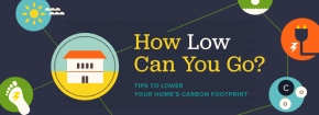 Do you want to lower your carbon footprint? This great infographic will help you do justthat!