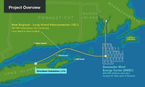 Deepwater Wind Project Breaks Ground in Rhode Island