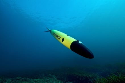 An ROV glider, industriously exploring the ocean....