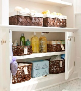 toiletry storage