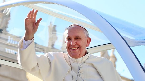 Don't worry, Pope Francis won't leave you with only the bad news. Image from http://latino.foxnews.com/latino/lifestyle/2014/02/18/pope-francis-renews-argentine-passport-just-like-regular-guy/