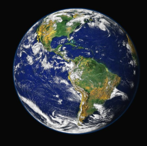 Image of earth from .