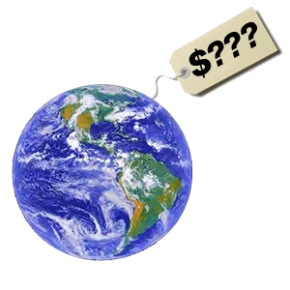 Dollarizing Nature: once bad, but now nature's bestchance?