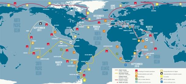 Tara Oceans Map